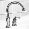 Delta Select (Brizo) Single-Handle Classic Kitchen Faucet, in Polished Chrome Finish