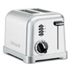Cuisinart Metal Classic 2-Slice Stainless Steel Toaster